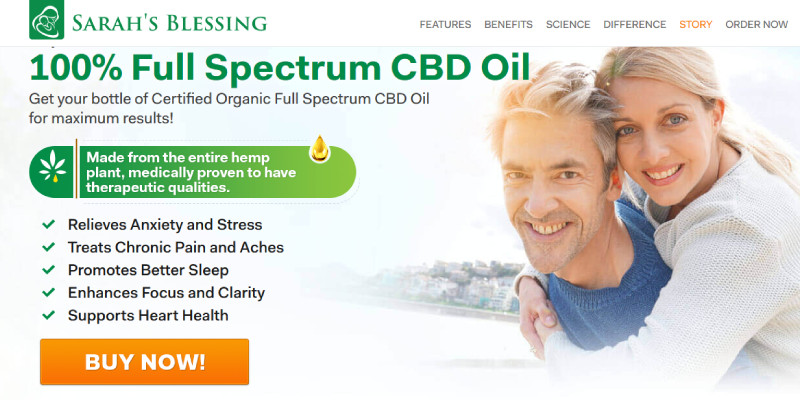 Sarah Blessing CBD Oil Where to buy